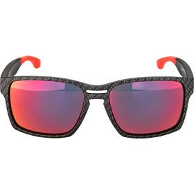 Rudy Project Spinair 57 Okulary przeciwsłoneczne, carbonium - rp optics multilaser red